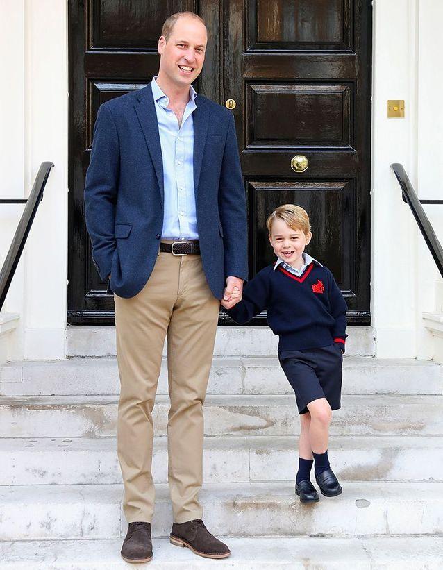La rentrée du prince George en septembre 2017
