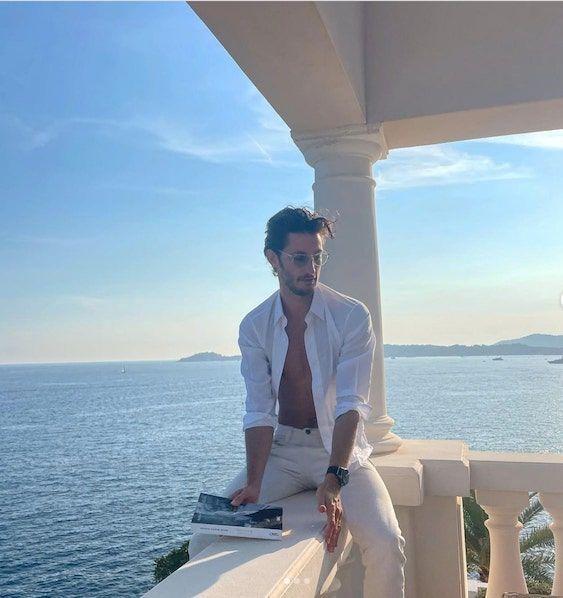 Pierre Niney en vacances au Cap Estel