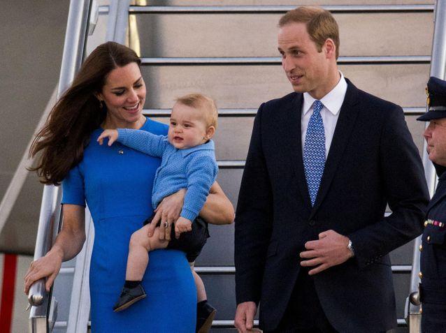 Prince George: les photos craquantes de sa première tournée royale!