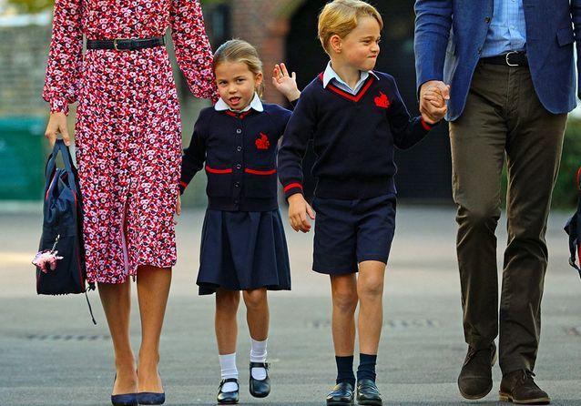 George et Charlotte font leur rentrée