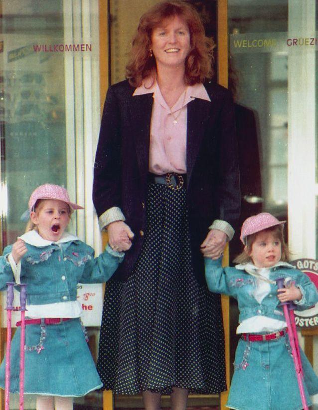 Beatrice et Eugenie et leur scandaleuse mère, Fergie