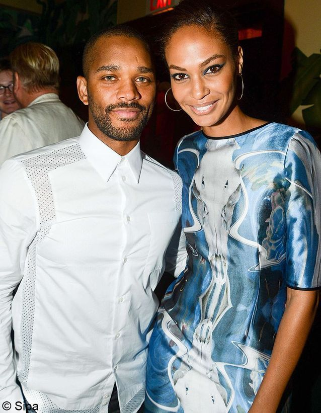 Joan Smalls et Bernard Smith