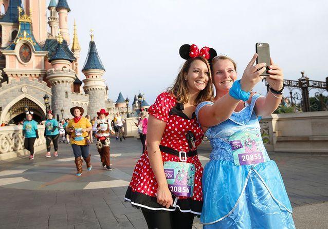 Le selfie château, meilleur prétexte pour arrêter de courir !