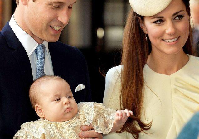 Revivez le baptême du prince George