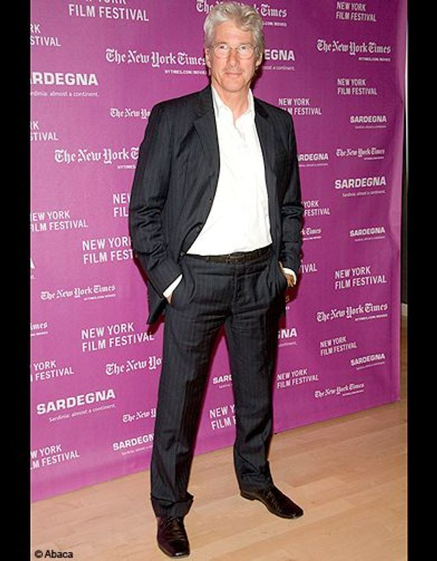 Richard Gere sur tapis rouge