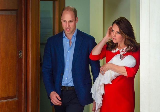 La première image du royal baby