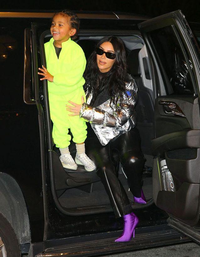 Kim Kardashian et Saint
