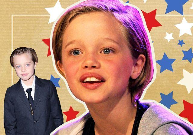 Shiloh Jolie-Pitt : une petite fille bien dans ses baskets