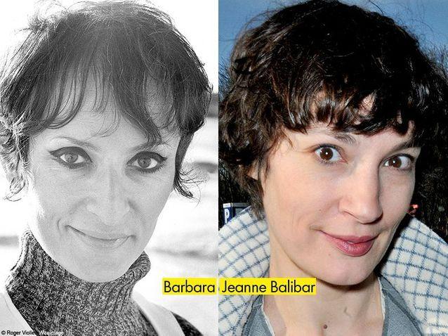 Barbara et Jeanne Balibar