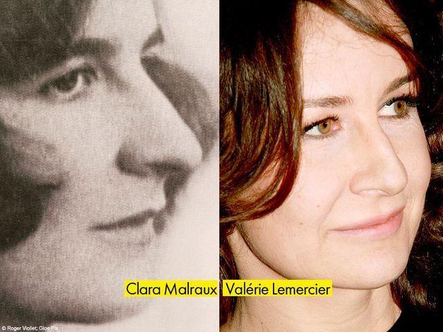 Clara Malraux et Valerie Lemercier