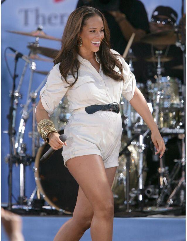 Alicia Keys enceinte