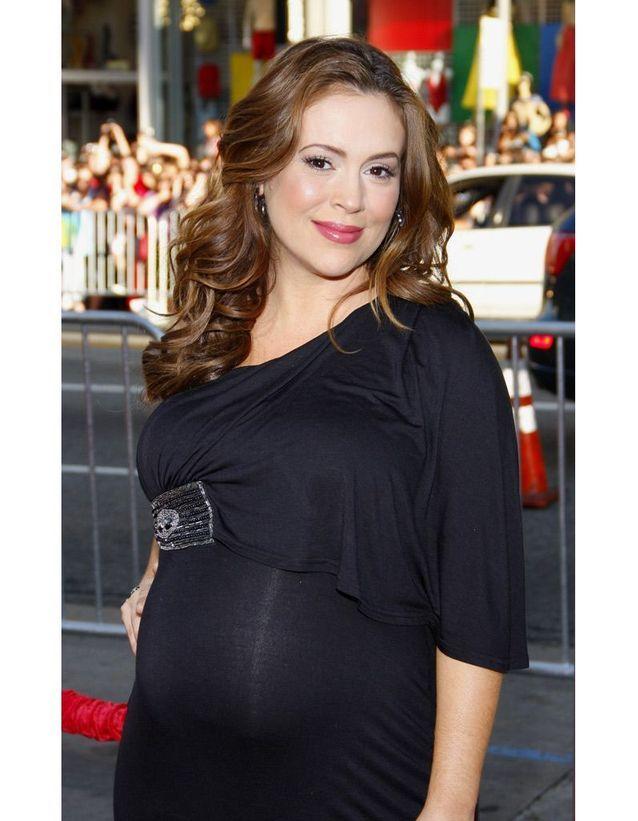Alyssa Milano enceinte