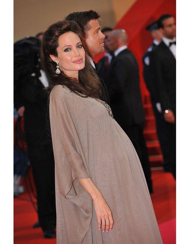 Angelina Jolie enceinte