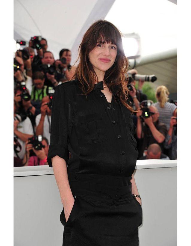 Charlotte Gainsbourg enceinte