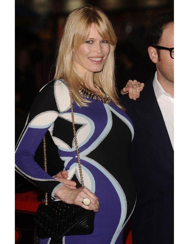 Claudia Schiffer enceinte