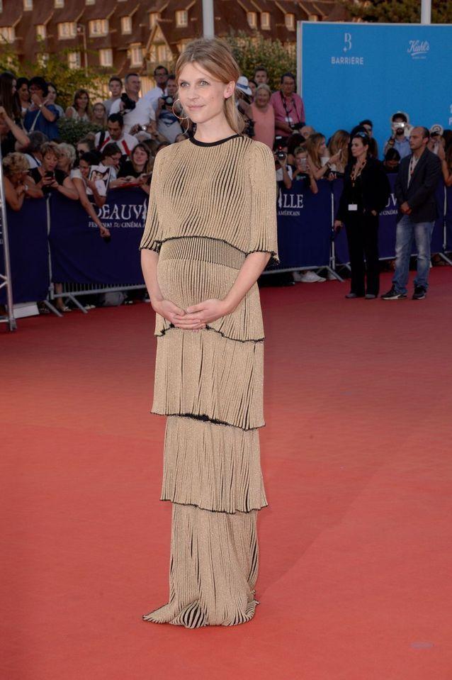 Clémence Poésy enceinte