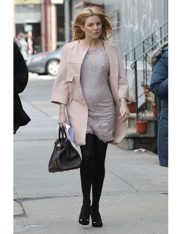 Sienna Miller enceinte