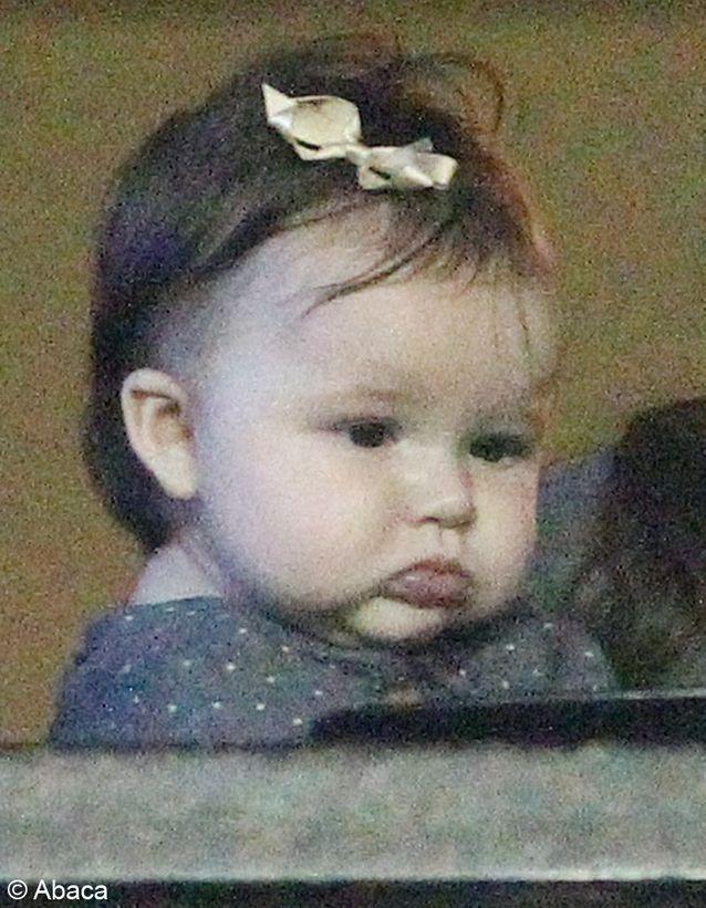 C'est certainement le bébé de star le plus photographié et dont le look est le plus observé.