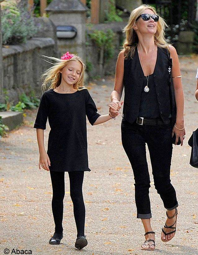 Lila Grace, la fille de Kate Moss !