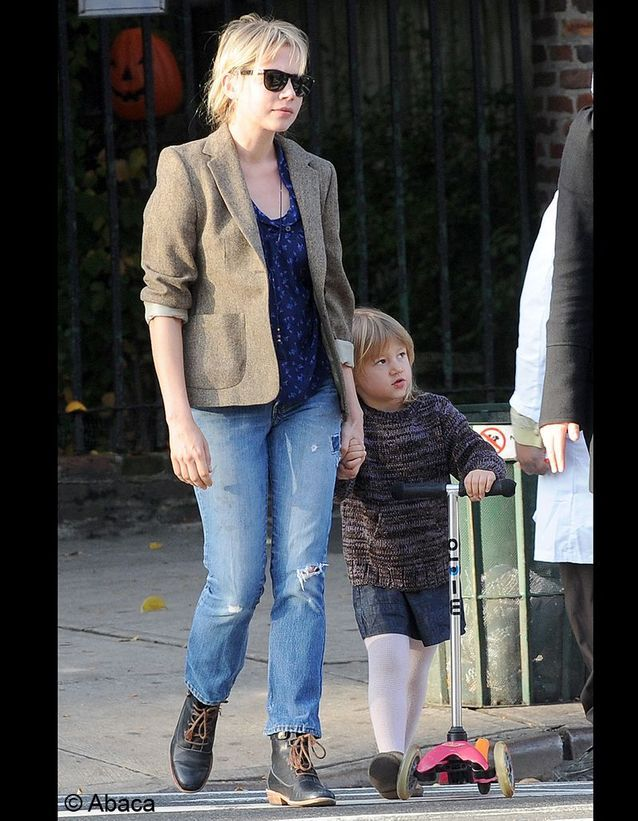 Matilda, la fille de Michelle Williams et Heath Ledger !