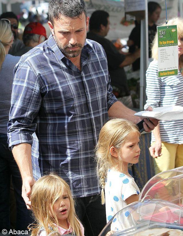 Violet et Seraphina, les filles de Ben Affleck et Jennifer Garner.