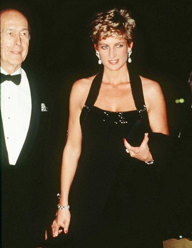 Valéry Giscard d'Estaing et Lady Diana