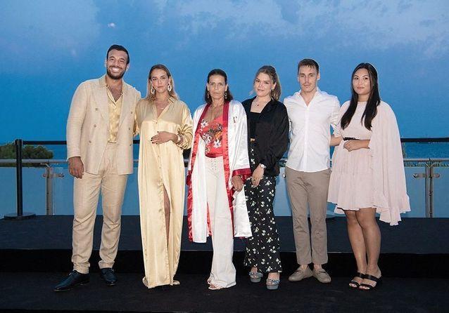 Stéphanie de Monaco et ses trois enfants, complices pour le gala Fight Aids Monaco