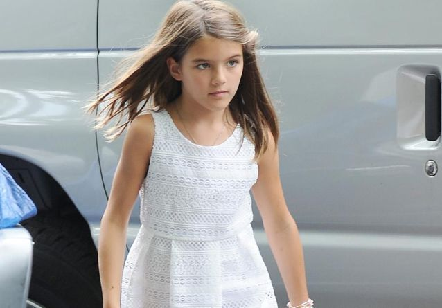 Suri Cruise : adorable petite New-Yorkaise