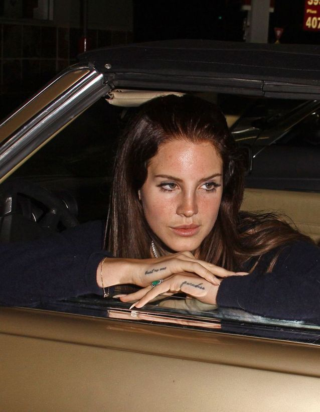 Le tatouage de Lana Del Rey