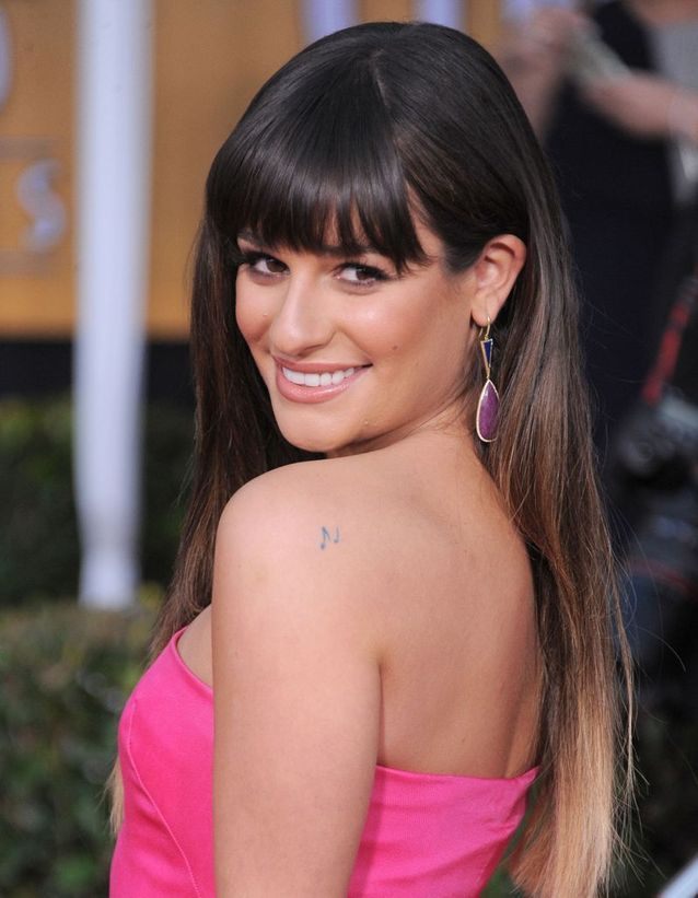 Le tatouage de Lea Michele
