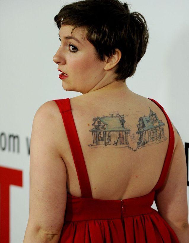 Le tatouage de Lena Dunham