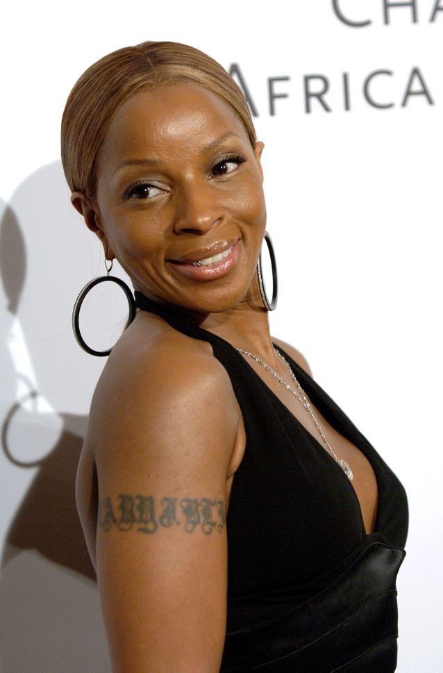 Le tatouage de Mary J. Blidge