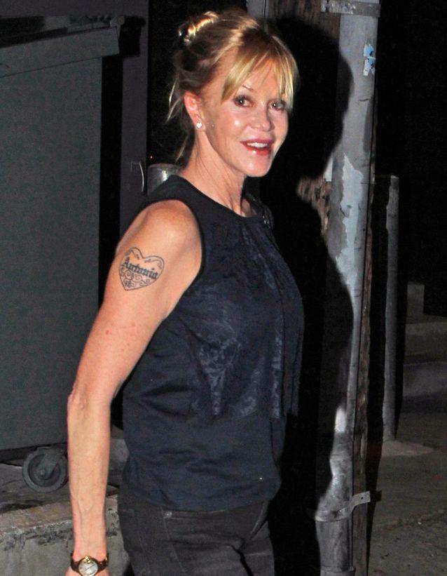 Le tatouage de Melanie Griffith