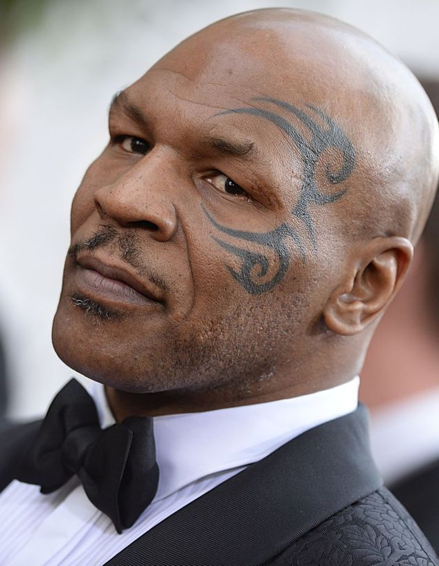 Le tatouage de Mike Tyson
