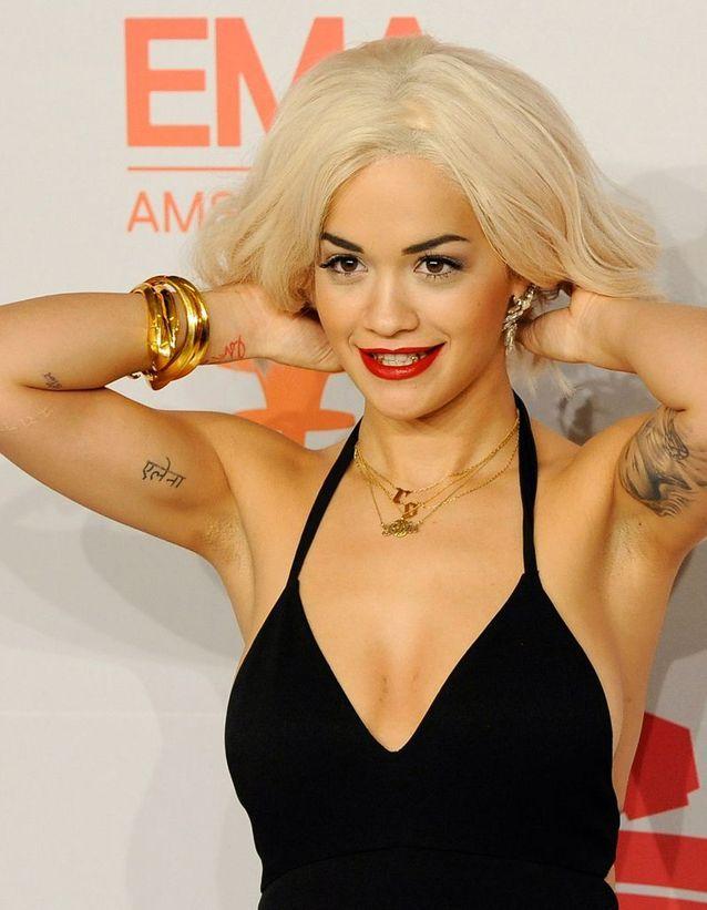 Le tatouage de Rita Ora