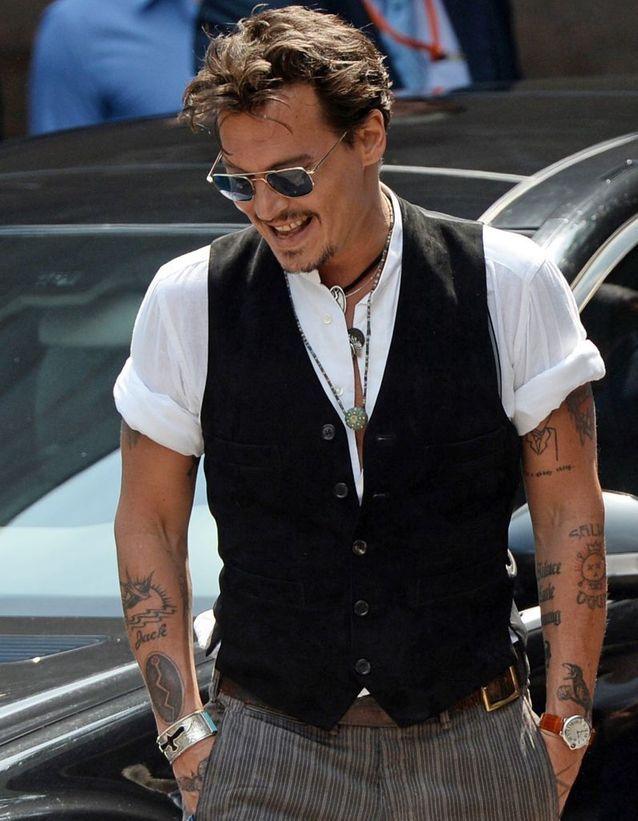 Les tatouages de Johnny Depp