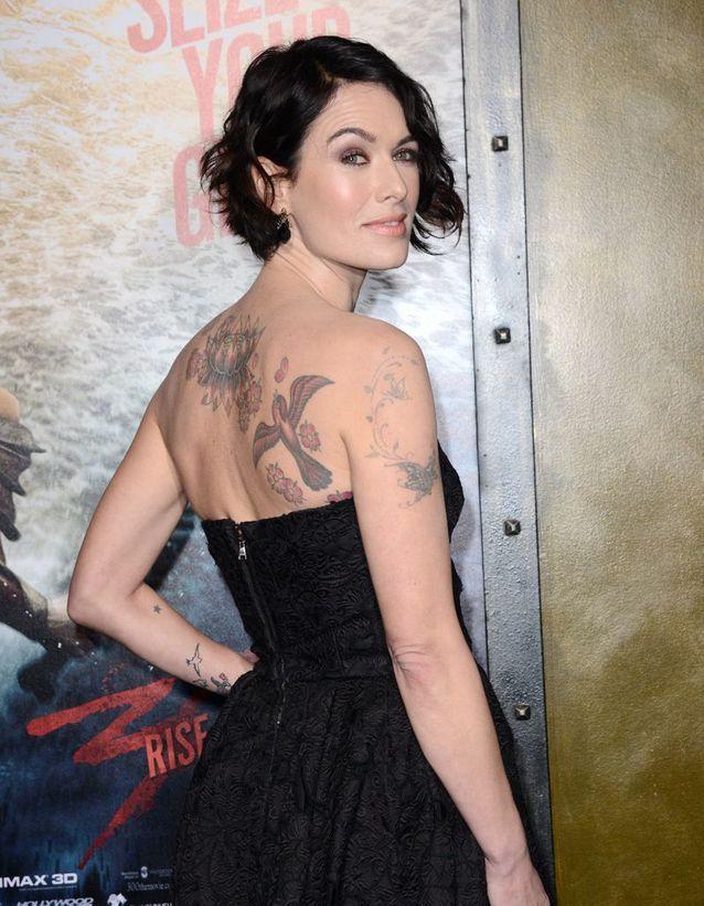 Les tatouages de Lena Headey