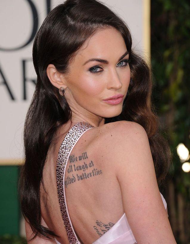 Les tatouages de Megan Fox