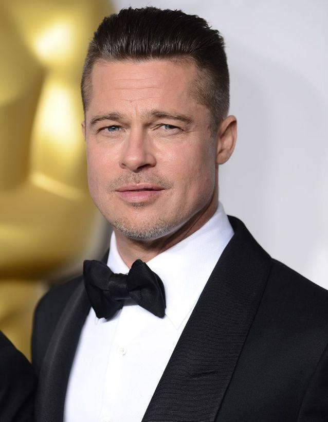 Brad Pitt transformation after
