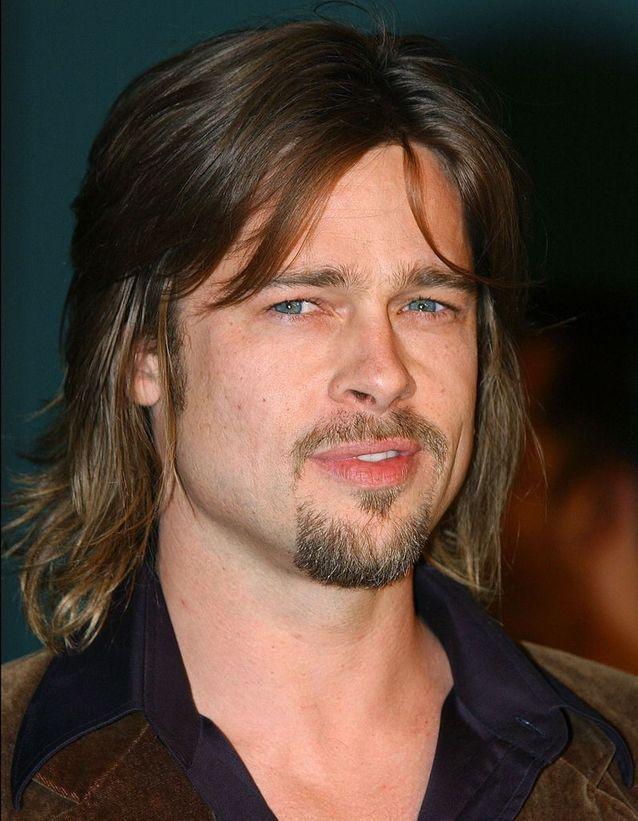 Brad Pitt transformation before