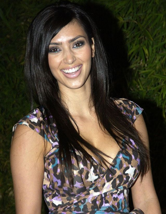 Kim Kardashian transformation before