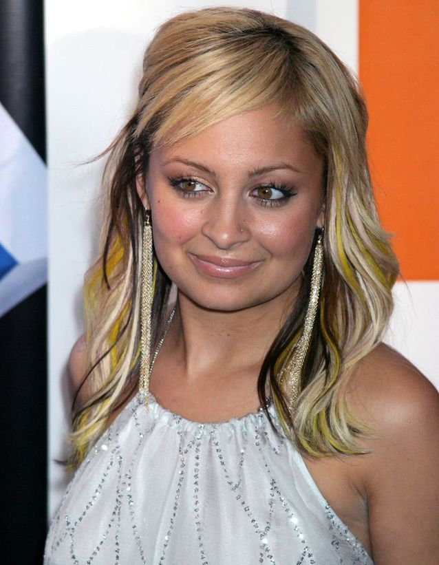 Nicole Richie transformation before