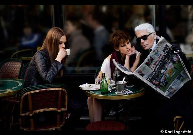 Karl Lagerfeld n'avait jamais lu « L'Equipe »
