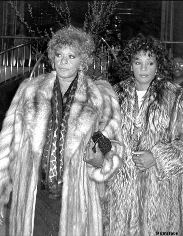 whitney houston et sa mère