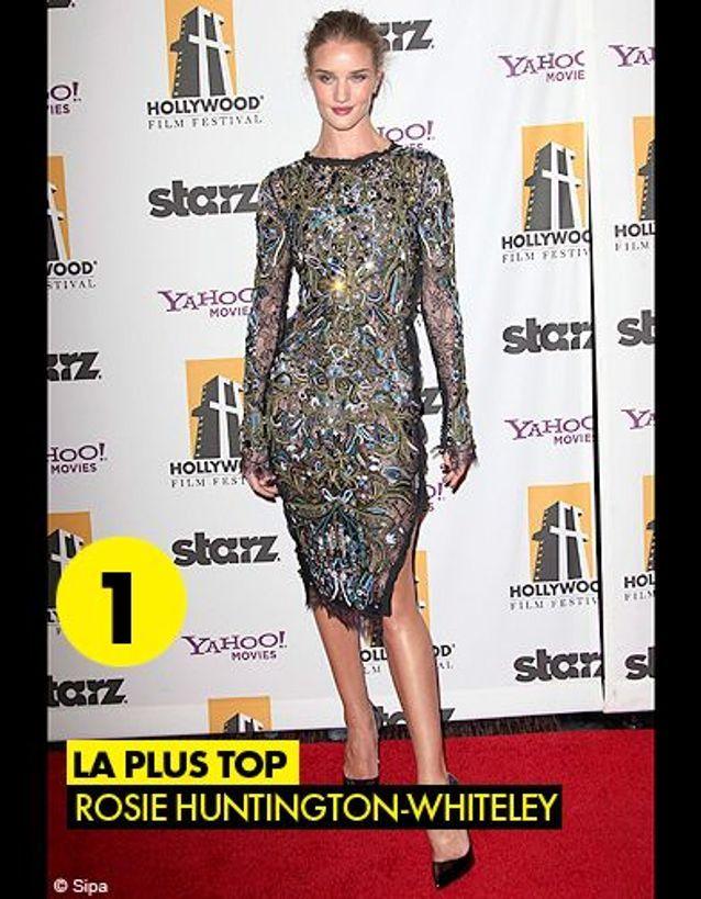 Best Dressed 2011  Rosie Huntington-Whiteley