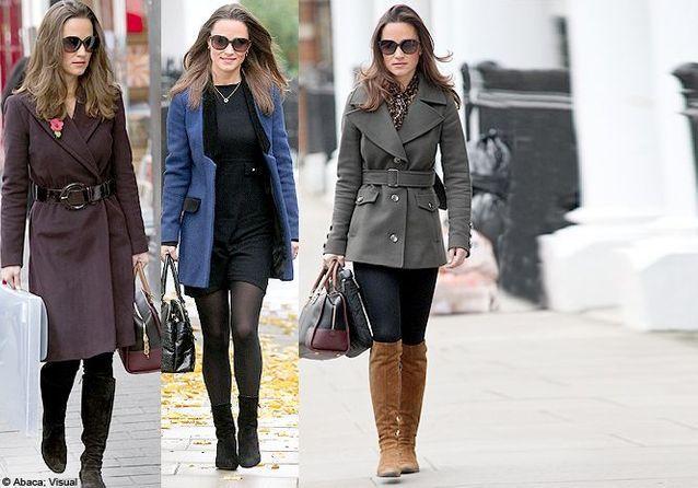 Fashion fixette : les manteaux de Pippa Middleton