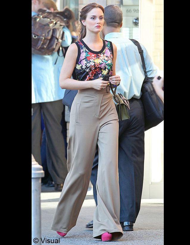 Blair en pantalon taille haute