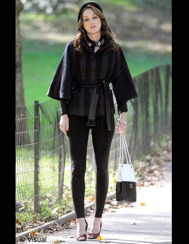 Blair et son sac Chanel