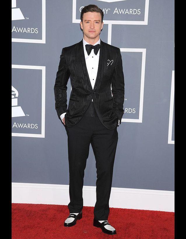 Justin Timberlake aux Grammys 2013