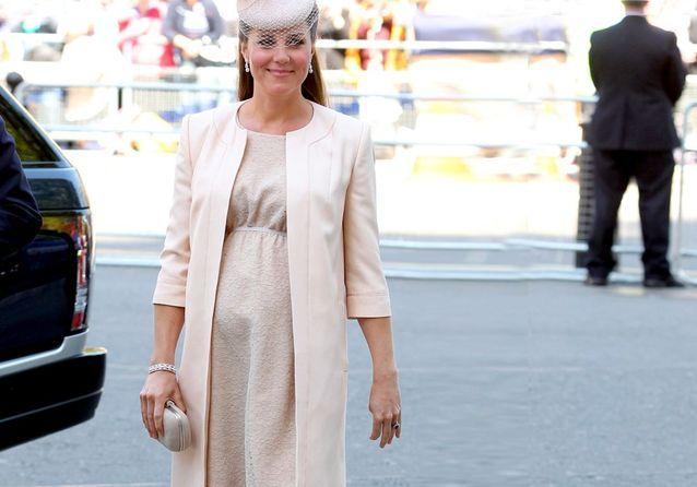 Kate Middleton : enceinte et stylée !